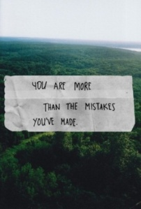 more than the mistakes
