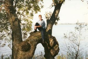 "Corey and ""his"" tree"